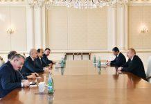 Prezident İlham Əliyev Türkiyənin nəqliyyat və infrastruktur nazirinin başçılıq etdiyi nümayəndə heyətini qəbul edib