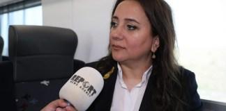 """""""Azərbaycan Dəmir Yolları"""" QSC mətbuat xidmətinin rəisi Natəvan Bayramova"""