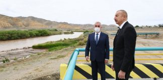 Prezident Ordubad Su Elektrik Stansiyasının tikintisi ilə tanış olub