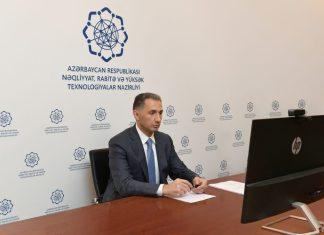 Azərbaycan Respublikasının nəqliyyat rabitə və yüksək texnologiyalar naziri Rəşad Nəbiyev