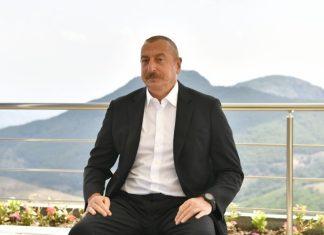 Dövlətimizin başçısı Azərbaycan Televiziyasına müsahibə verib