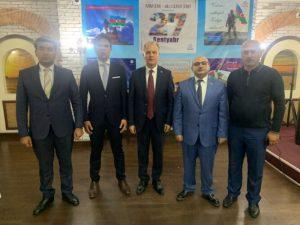 Anım Günü ilə əlaqədar Qazaxıstanın Aktauda şəhərində tədbir təşkil olunub