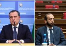 Ceyhun Bayramov və Ararat Mirzoyan