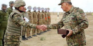 Azərbaycan Ordusunun Baş Qərargah rəisi general-leytenant Kərim Vəliyev