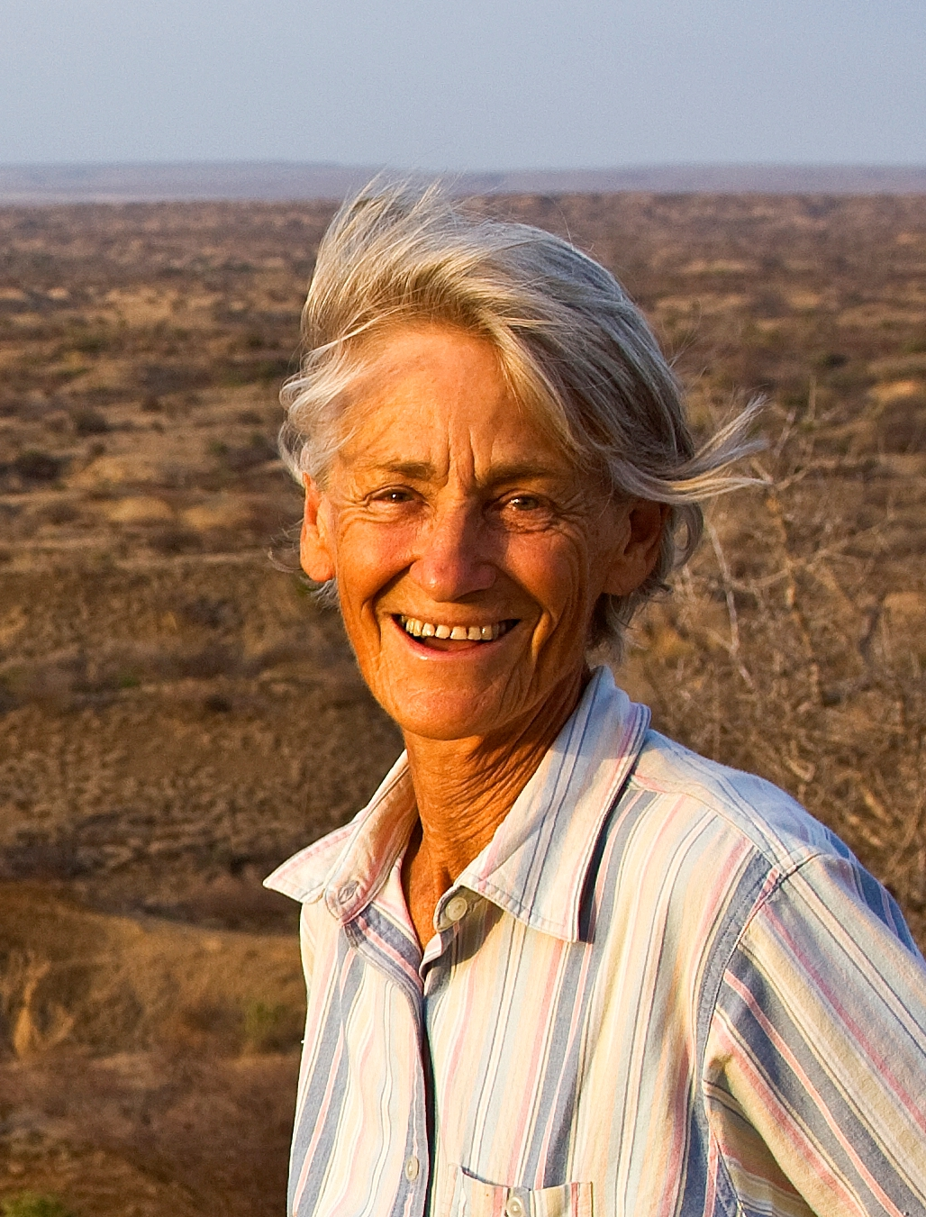 Meave Leakey, first Kenyan and first African woman elected as a Foreign Associate of the National Academy of Sciences.