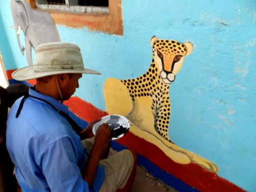 Dino and his Cheetah