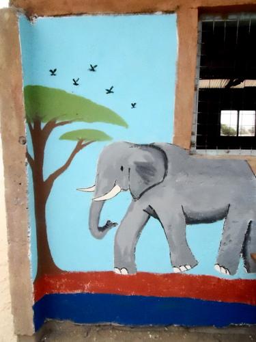 The finished Elephant