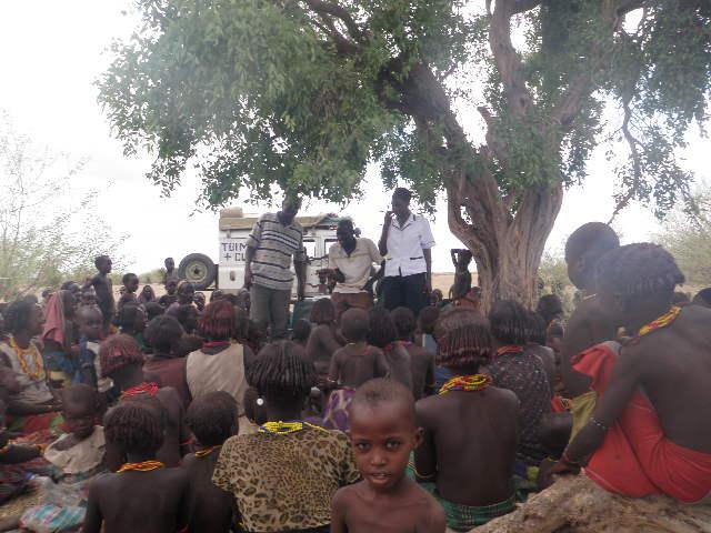 Educating people on general health issues in Ilgele village