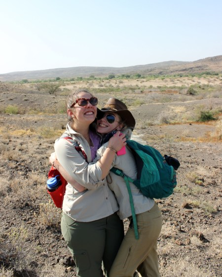 Jen and Kait find a special bond in the desert.