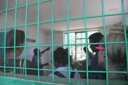 Inside the cell where Kenyatta was imprisoned.