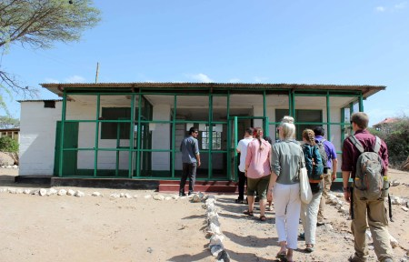 """The TBI students first visit """"Kenyatta House"""". This was the prison where Kenya's first president, Jomo Kenyatta, was held during the Mau Mau revolution (an anti-colonial movement on the path to Kenya's independence from its British rulers)."""