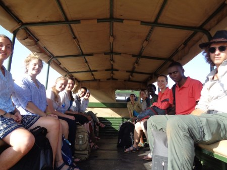 Students ready to head to Lake Turkana!