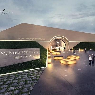 Studio Vertebra mimari tasarımı