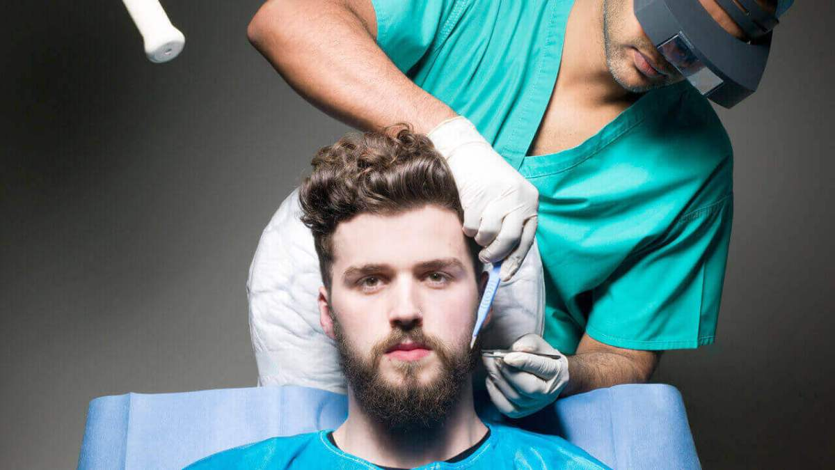 Beard and Mustache Transplantation