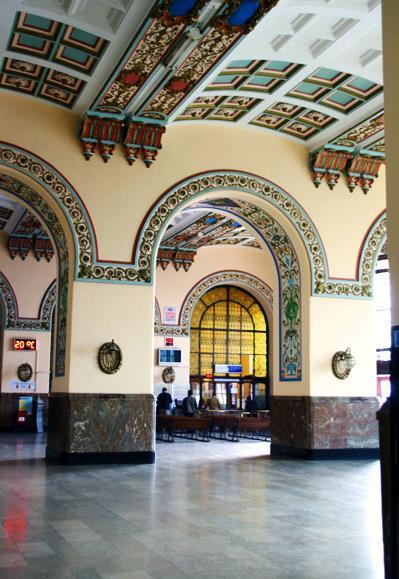 محطه قطارات حيدر باشا فى اسطنبول