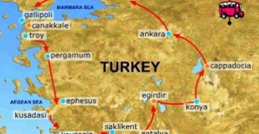 المنتجعات السياحية في تركيا