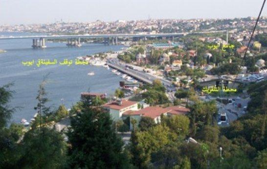 تلفريك مقهى بيرلوتياسطنبول الاوروبية