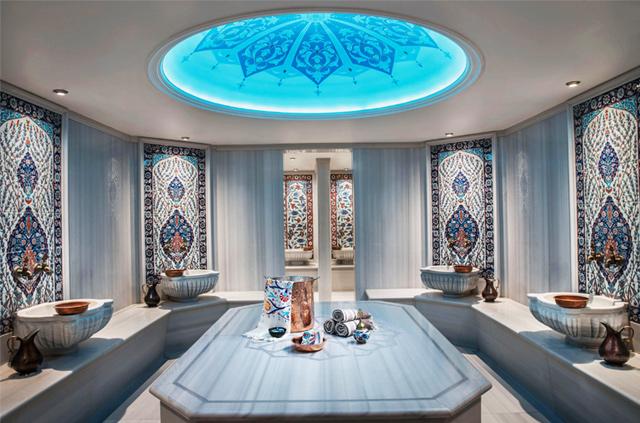 Afiya Spa Turkish Bath Ajwa Hotel Istanbul Luxury Spa pic8