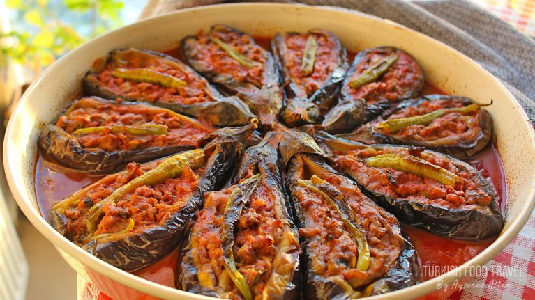 "Turkish Stuffed Eggplant ""Karniyarik"""