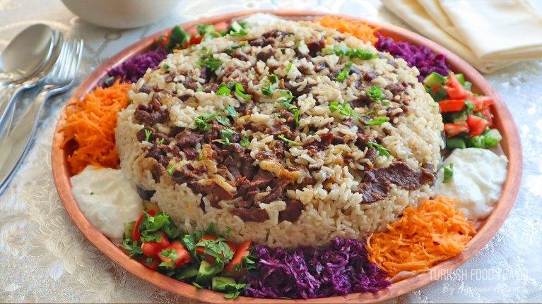 Maklube / Maqluba – Festive Meat & Rice Dish