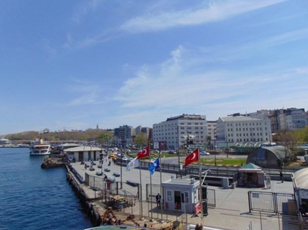 Koronalı günlerde Eminönü, İstanbul