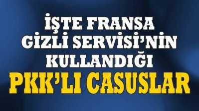 Fransa Gizli Servisi PKK