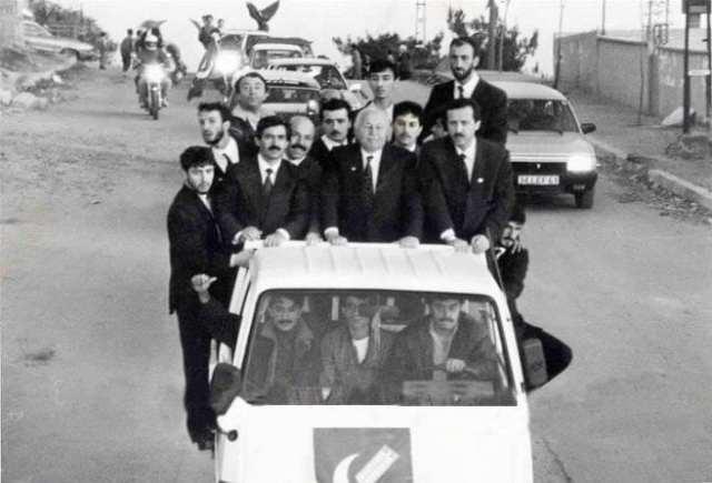 Erdoğan Erbakan ile birlikte