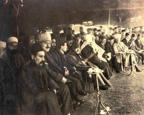 Atatürk Nevruz kutlamalarında, 21 Mart 1922, Ankara