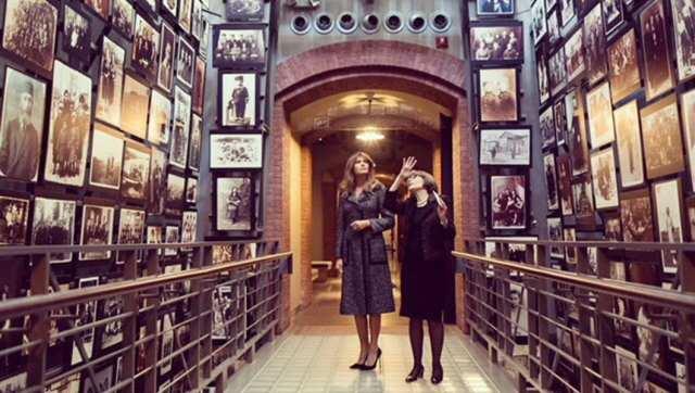 Melania Trump Washington soykırım müzesinde