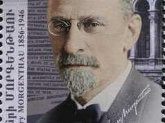 Henry Morgenthau ve ABD'nin Osmanlı elçisi iken ülkesine yazdığı telgraf temalı Ermeni pulu