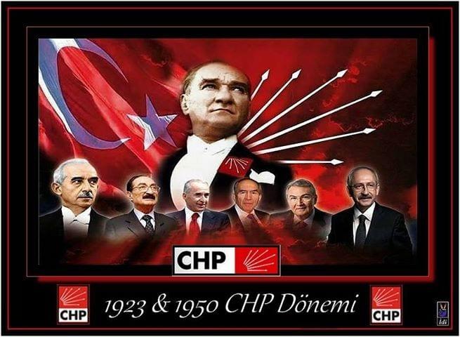 cumhuriyetin chp donemi 1923 1950 arası