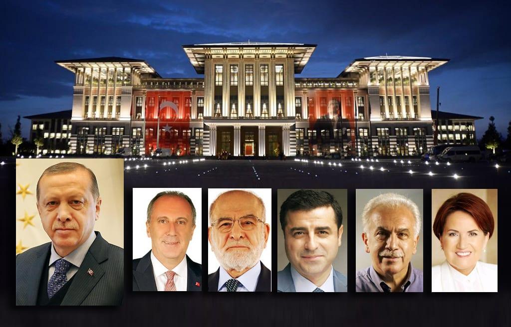 2018 başkan adayları