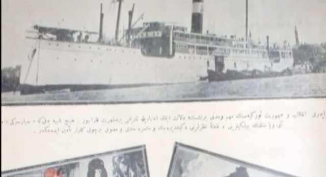 Cumhuriyetin ilk yıllarında Karadeniz vapuru