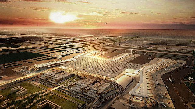 İstanbul havalimanı faaliyete geçti