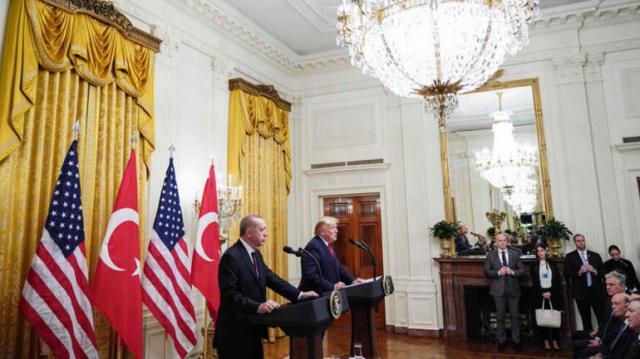 Son dakika... Cumhurbaşkanı Erdoğan ve ABD Başkanı Trumptan önemli açıklamalar