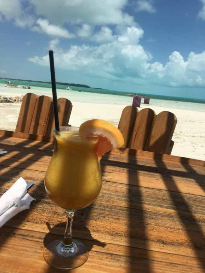 Miss B's Best Rum Punch on North Caicos