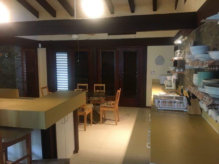 Whitby Beach Cottage kitchen