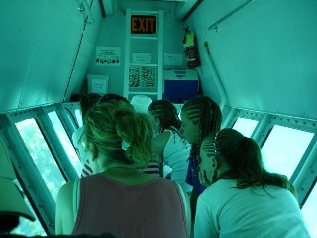 Undersea Explorer Mini-sub on Provo, TCI