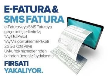 kablonet faturalı müşteriye kampanya