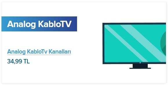 Analog KabloTV Paketi