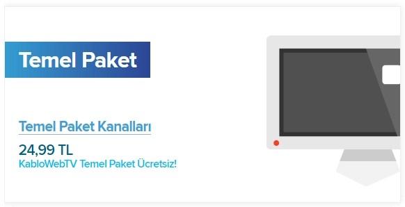 KabloTV Temel Paket