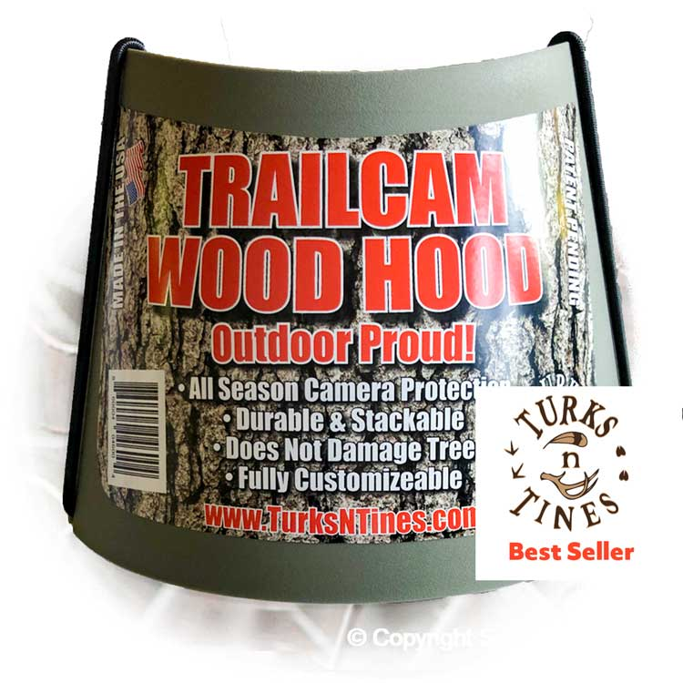 TRAIL CAM WOOD HOOD