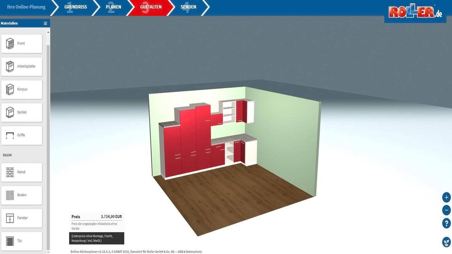 Küchenplaner App Deine neue Küche einfach kostenlos ...