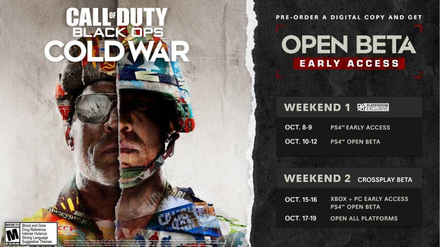Call of Duty: Black Ops Cold War Beta-Termine: So spielst ...