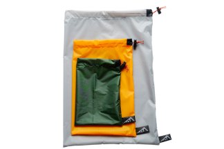 Ultralight silnylon drawstring stuff sacks