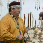 Chief Don Stevens and the Nulhegan-Coosuk Band of the Abenaki Singers