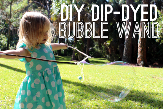 Dip Dyed Bubble Wand Intro