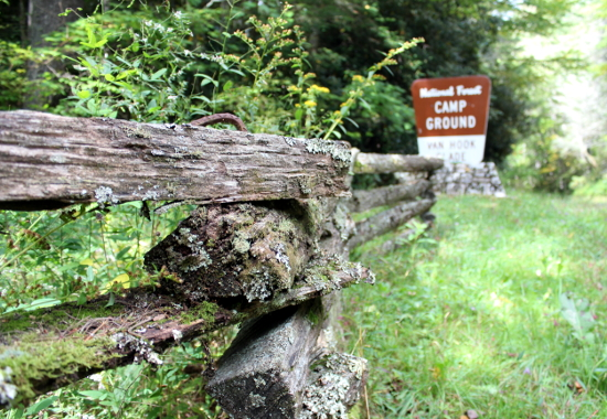Campground Fence
