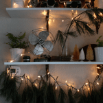 DIY Christmas Branch Garland