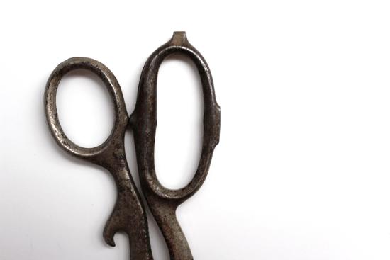 Vintage Scissors Handle